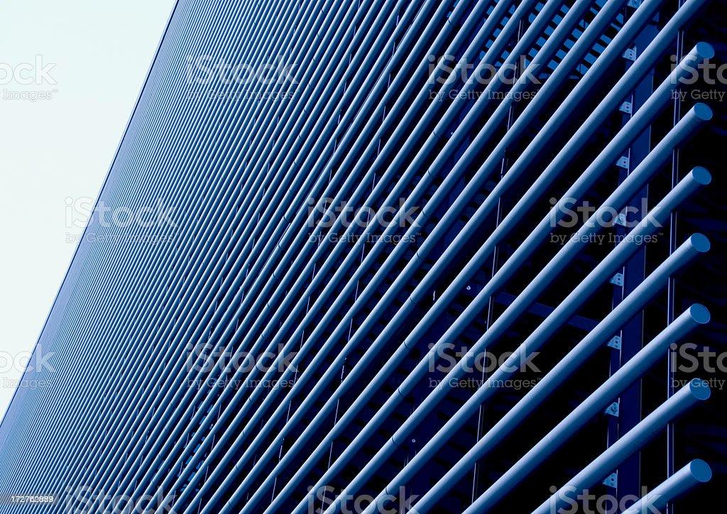 Metal Tubes stock photo