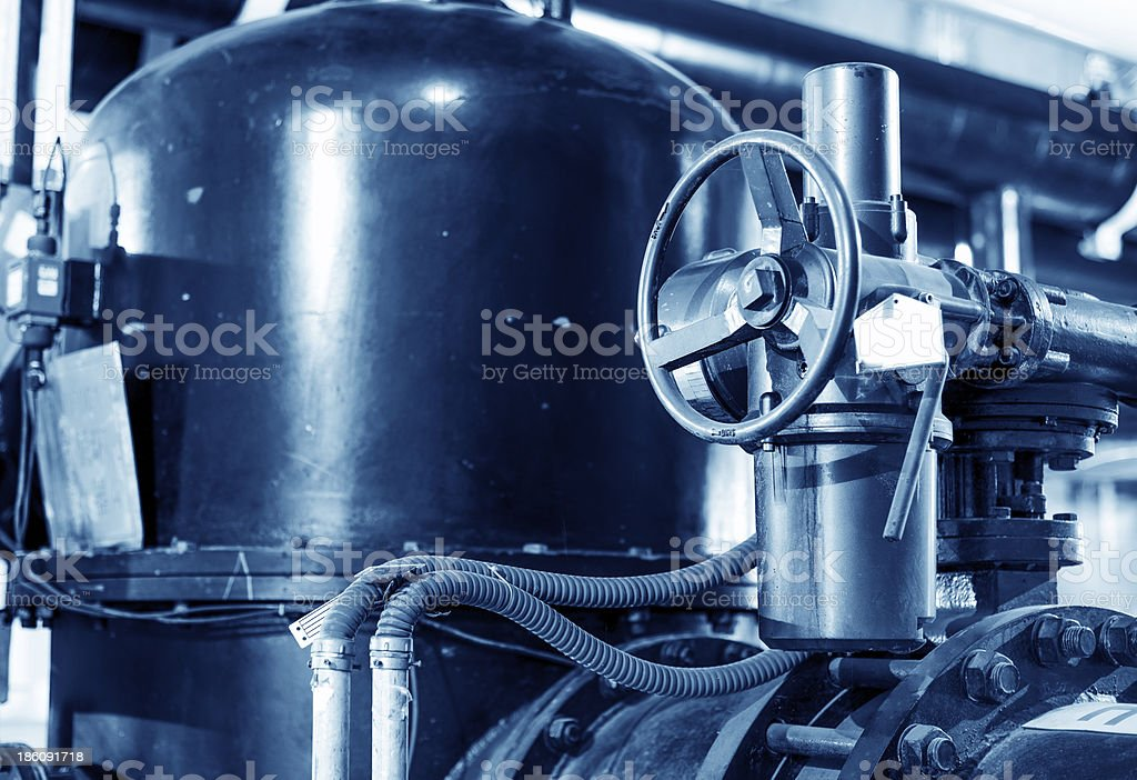 Metal valves royalty-free stock photo