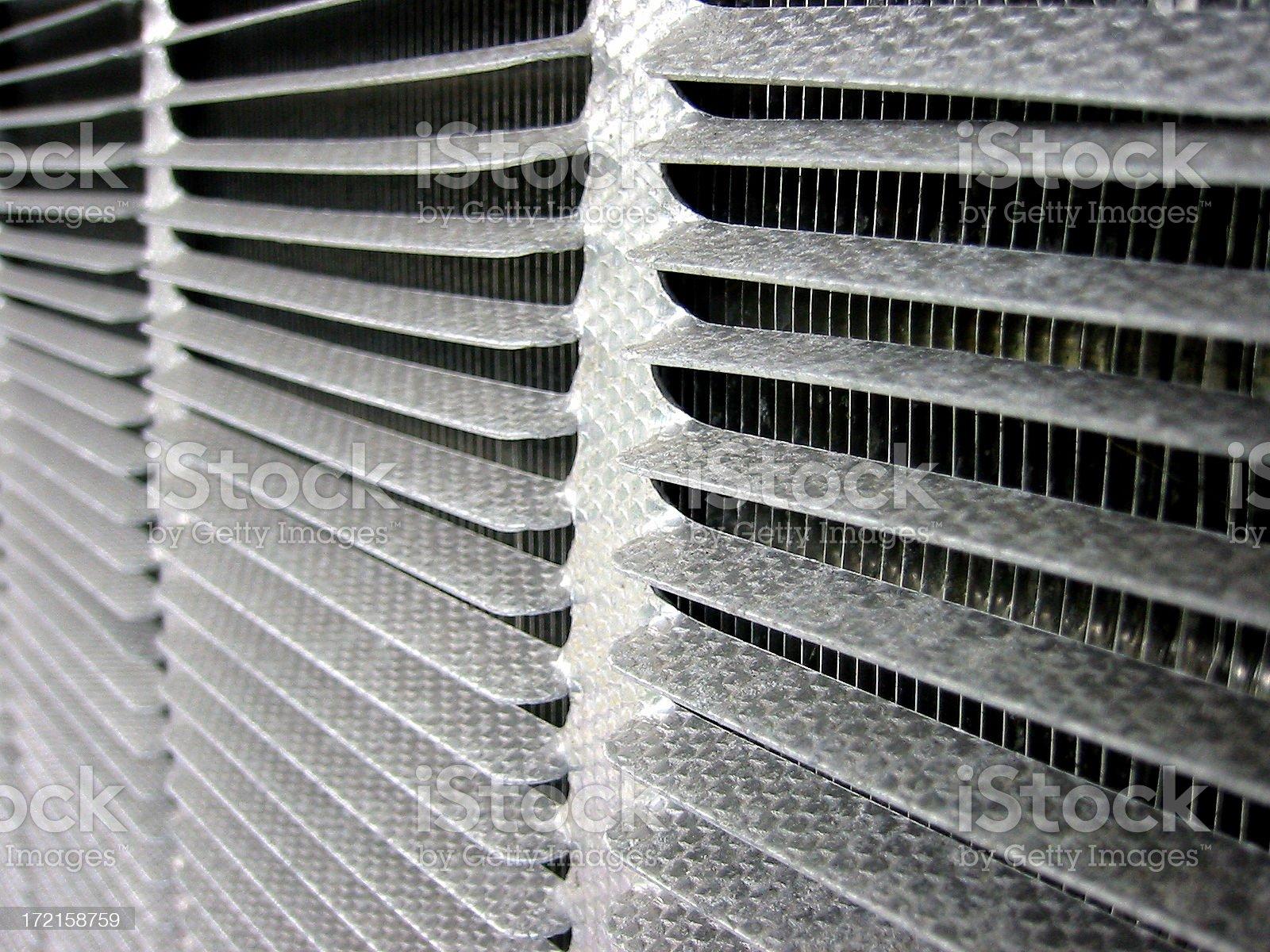Metal vent royalty-free stock photo