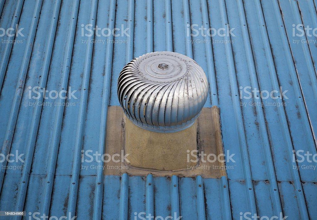 Metal ventilation royalty-free stock photo