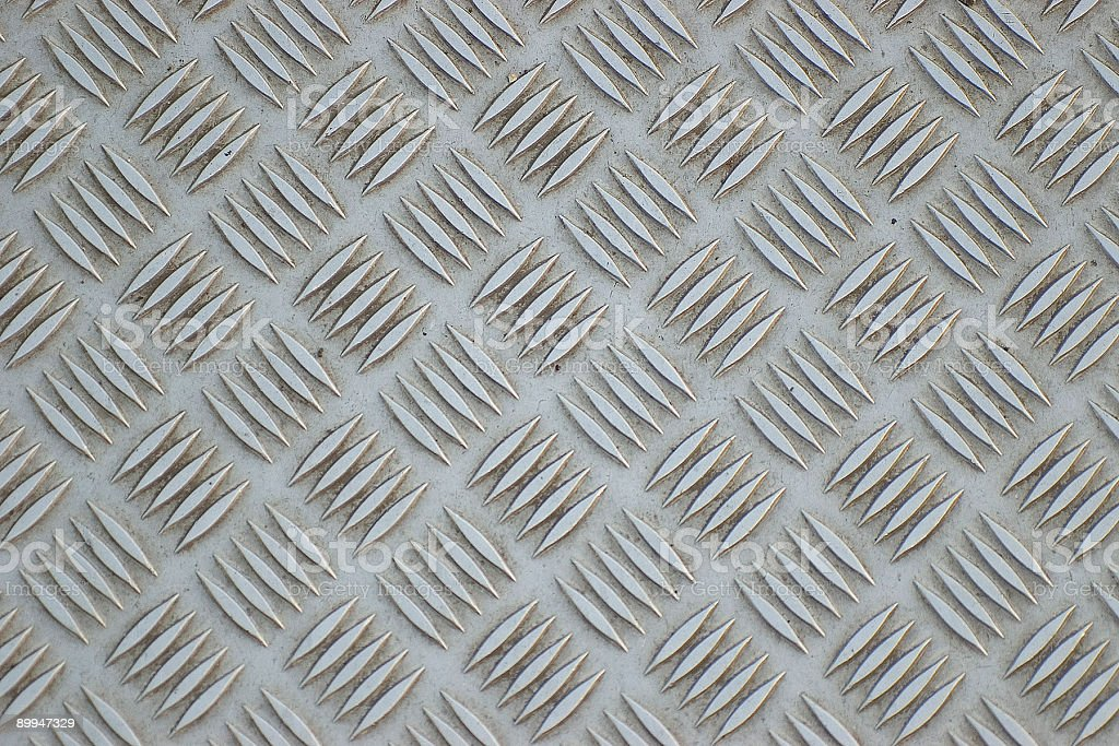 Metal walkway royalty-free stock photo