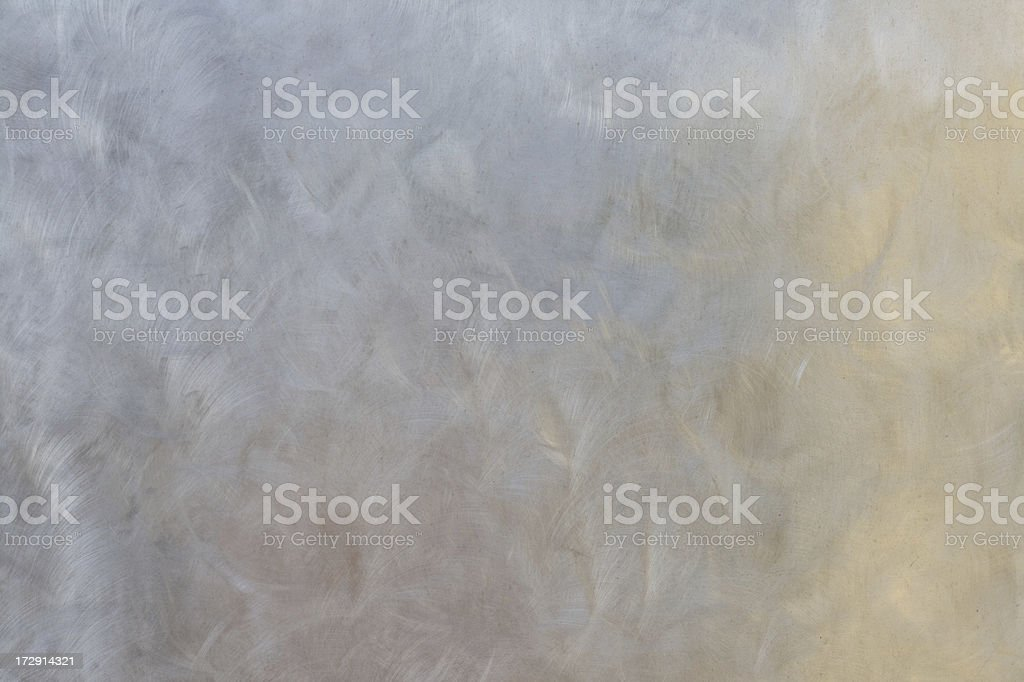 Metal wall - pastel abstract reflections stock photo