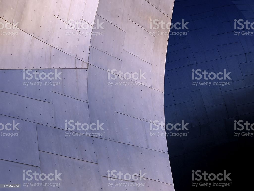 Metal Waves royalty-free stock photo