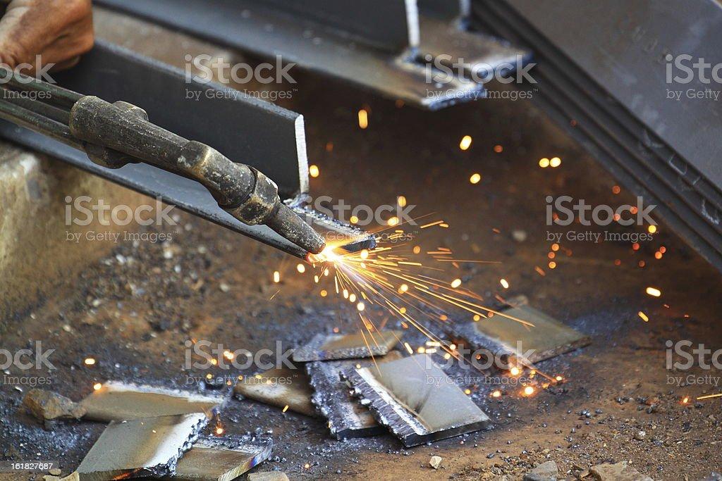 Metal Welding royalty-free stock photo