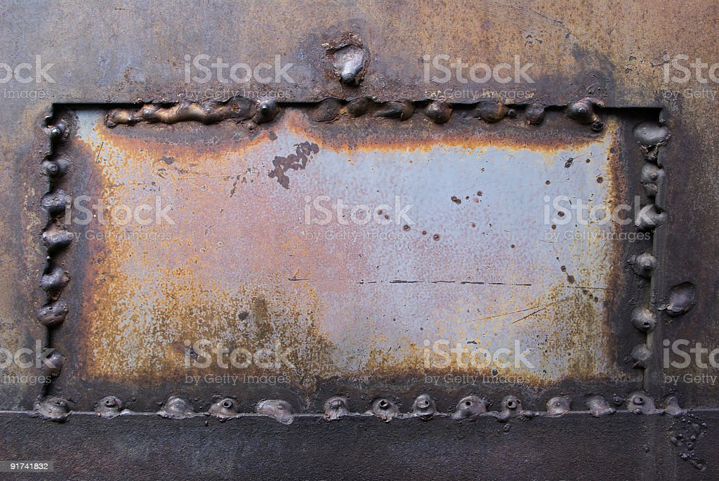 Metall window royalty-free stock photo