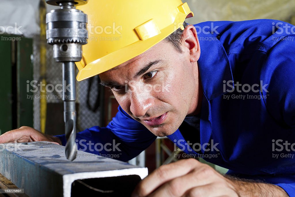 metal worker royalty-free stock photo