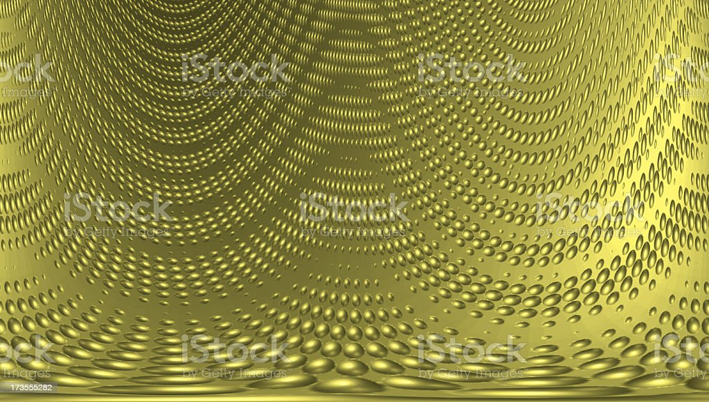Metal: Yellow Textured royalty-free stock photo