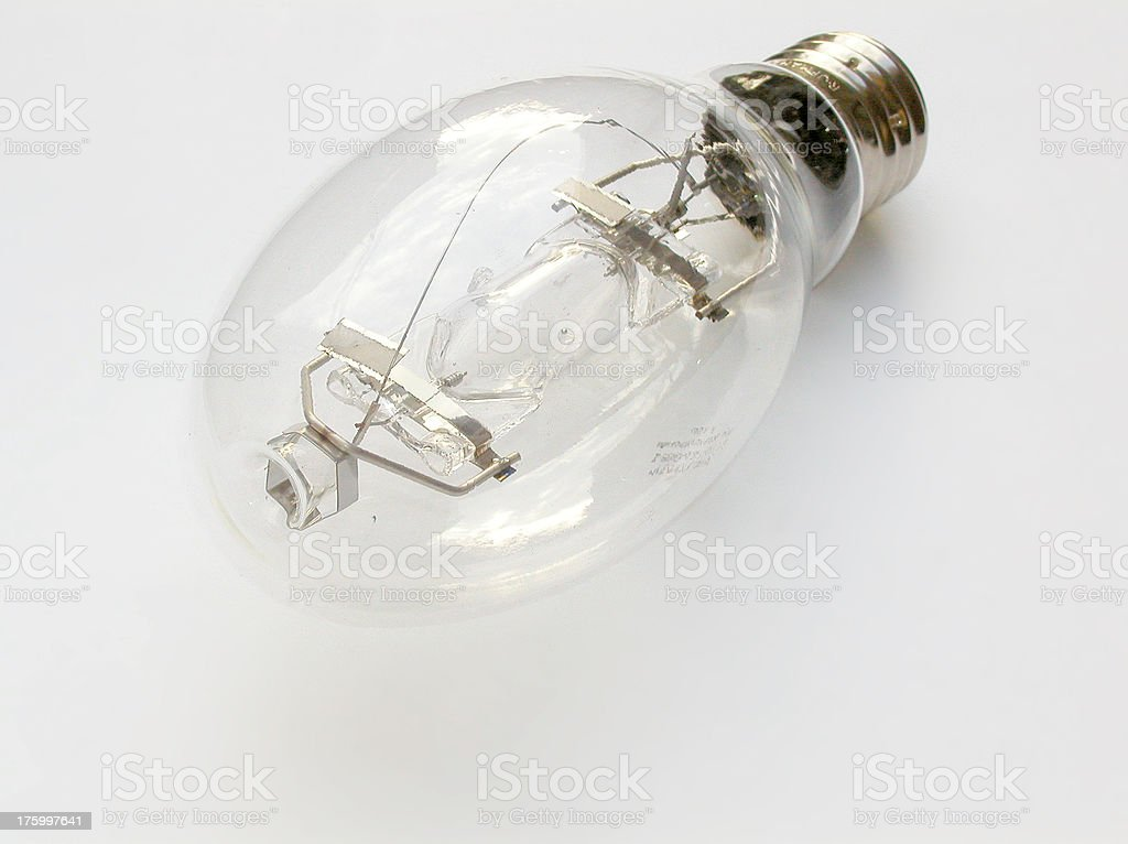 Metal-Halide lamp - 400 Watt stock photo