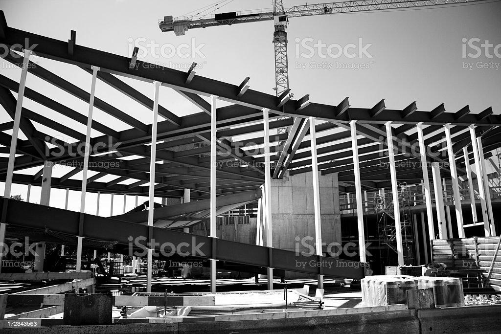 Metall Construction royalty-free stock photo
