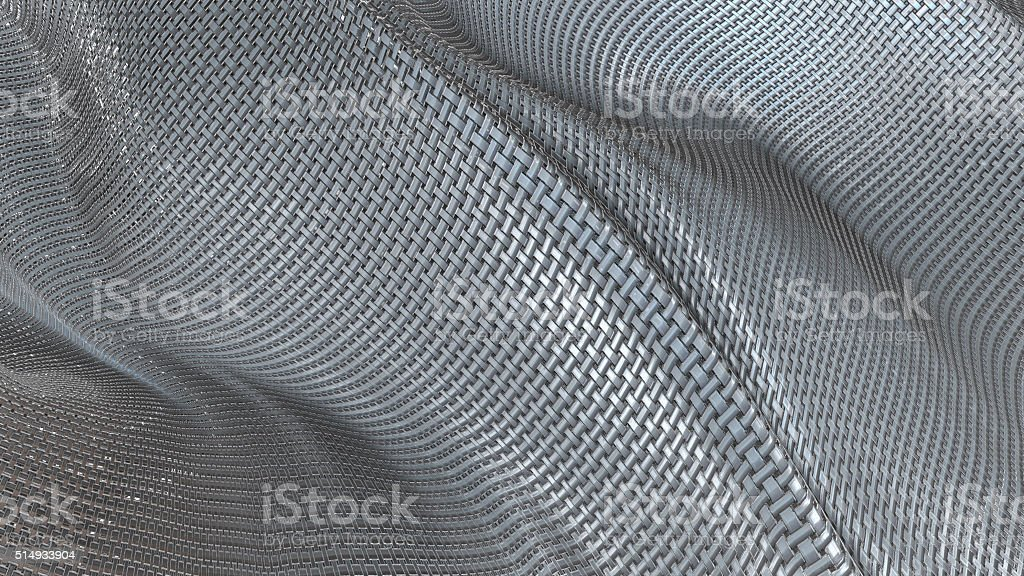 Metallic Cloth abstract background royalty-free stock photo