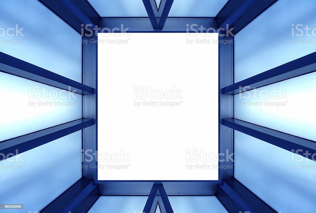 Metallic Framework royalty-free stock photo