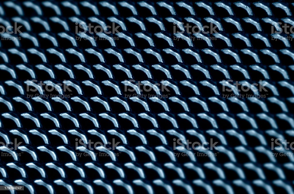 metallic lattice back royalty-free stock photo
