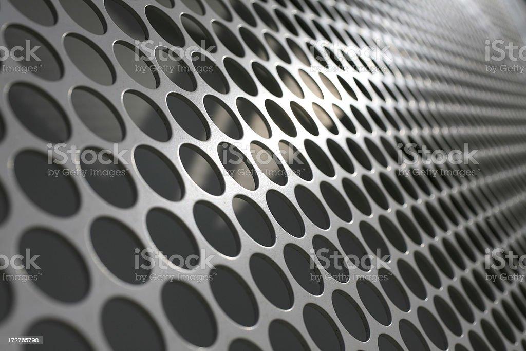 Metallic Mesh stock photo