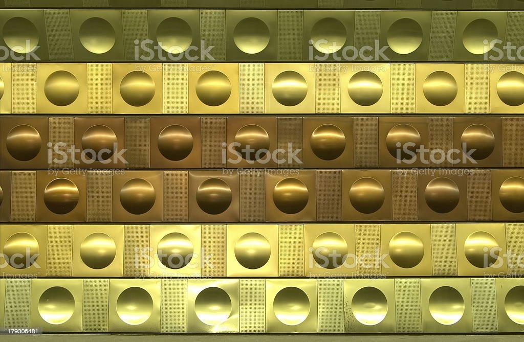 Metallic Pattern royalty-free stock photo