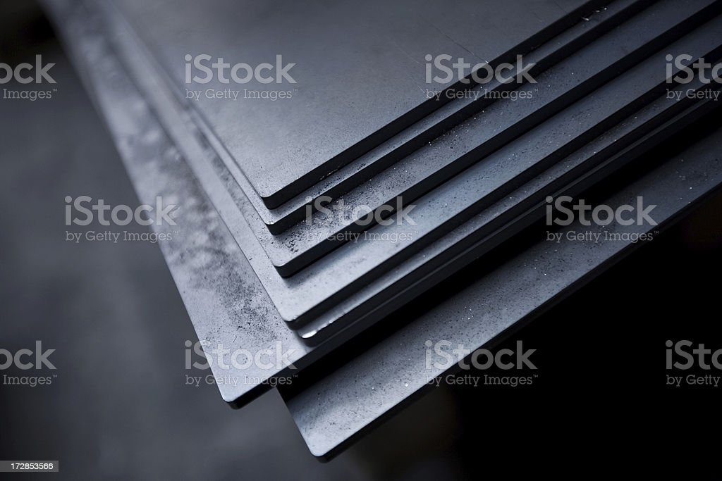 Metallic stock photo