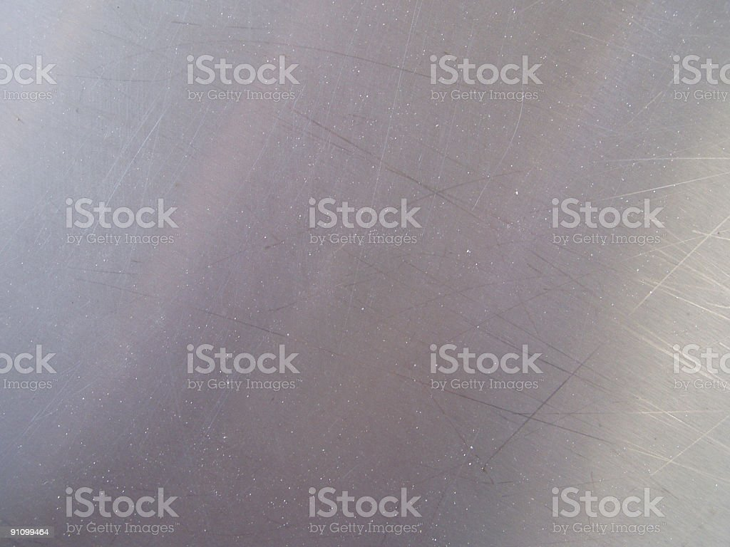 Metallic plate royalty-free stock photo