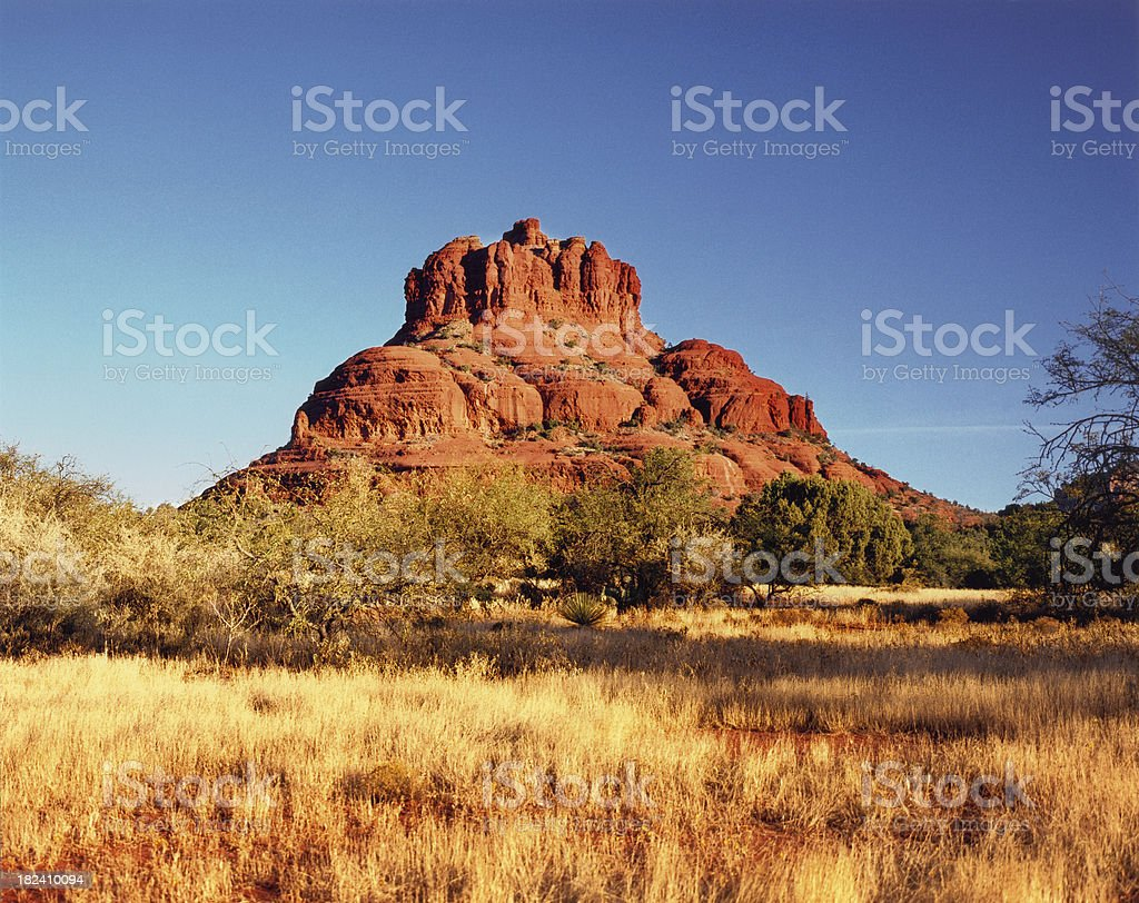 Metallic Print: Bell Rock, Sedona royalty-free stock photo