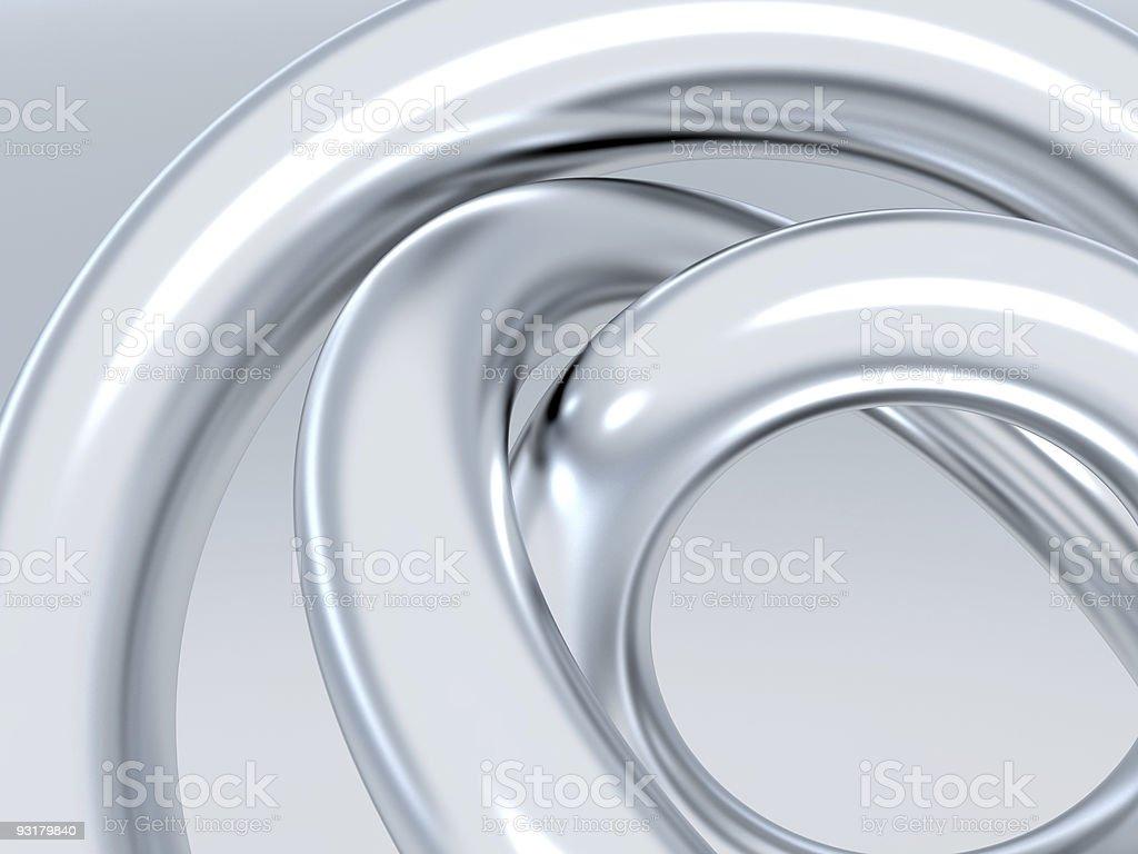 metallic rings stock photo