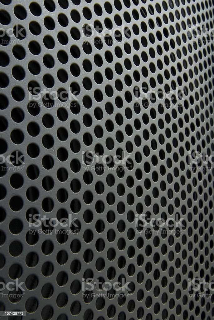 Metallic rounded mesh background royalty-free stock photo