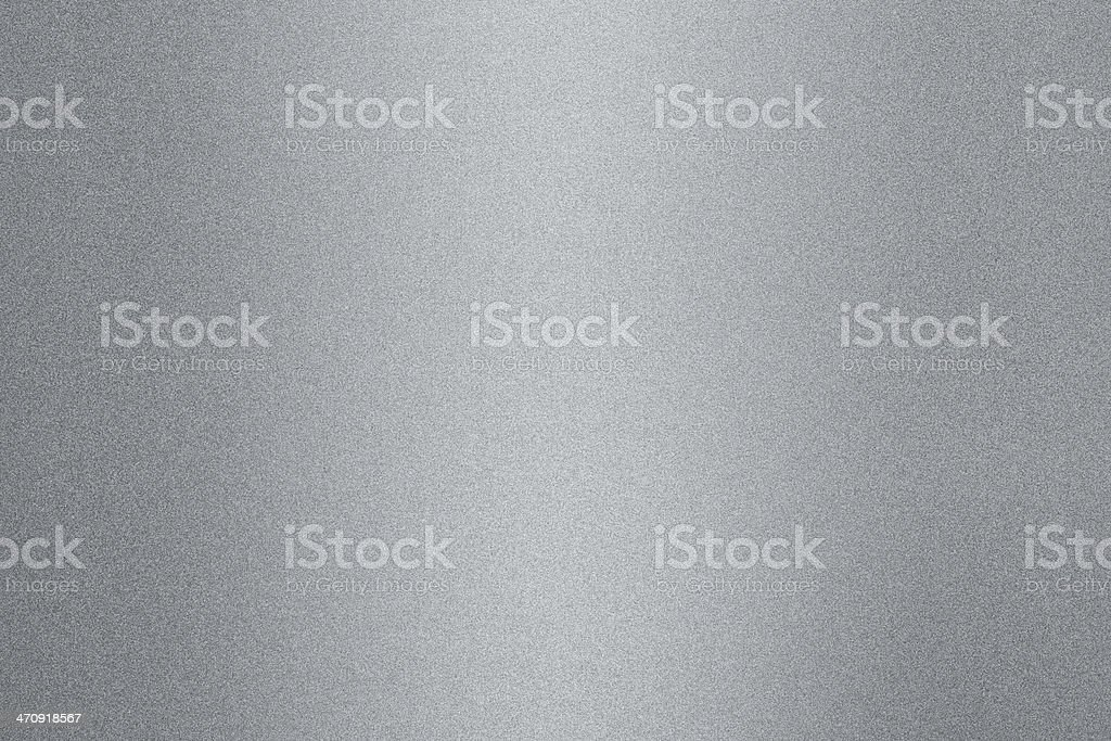Metallic silver background reflecting light stock photo