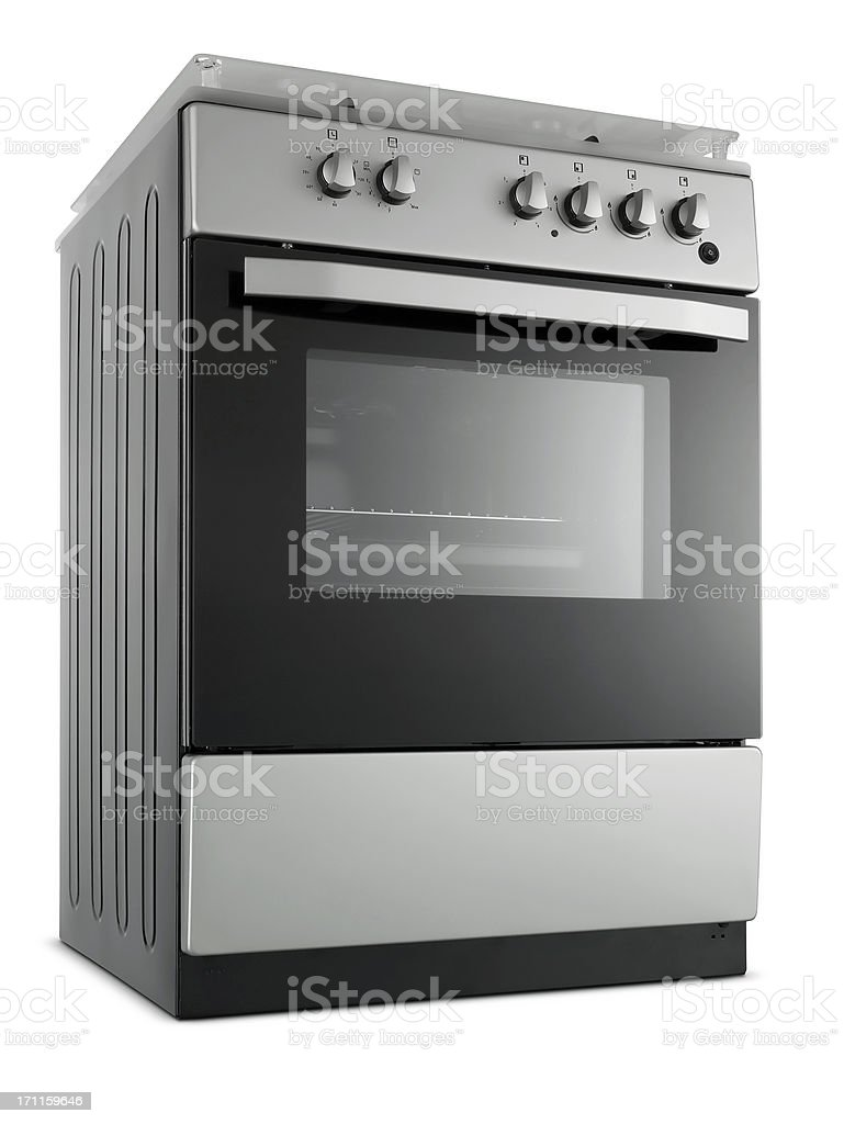 Metallic Stove (Click for more) stock photo