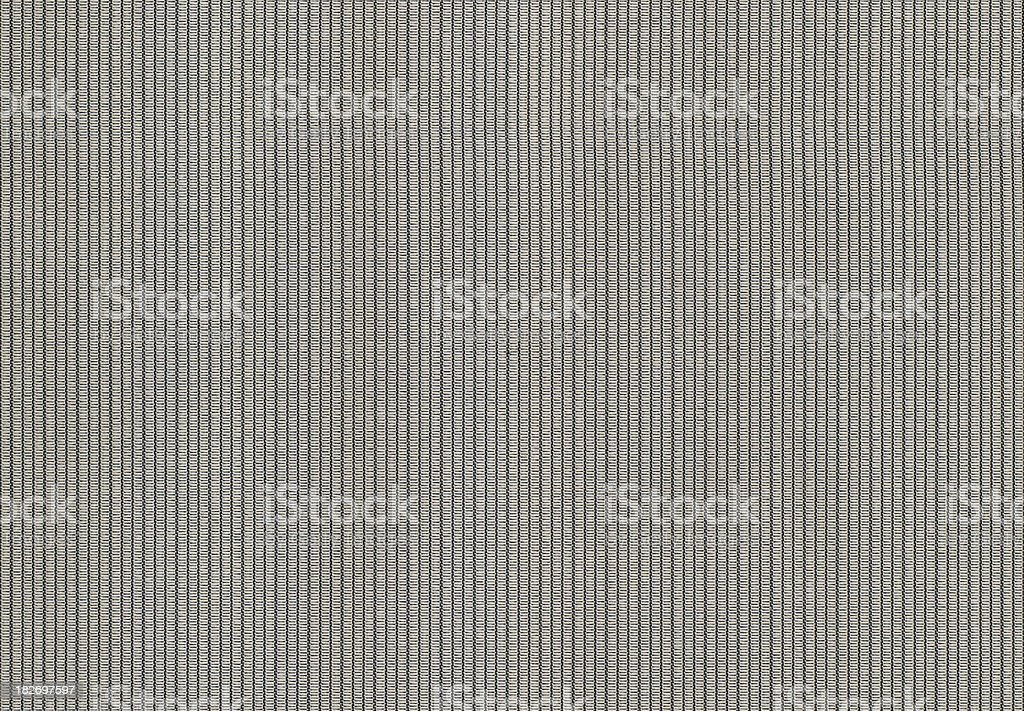 Metallic Striped Fabric royalty-free stock photo