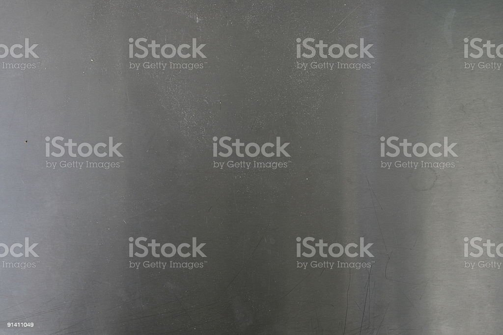 Metallic surface royalty-free stock photo