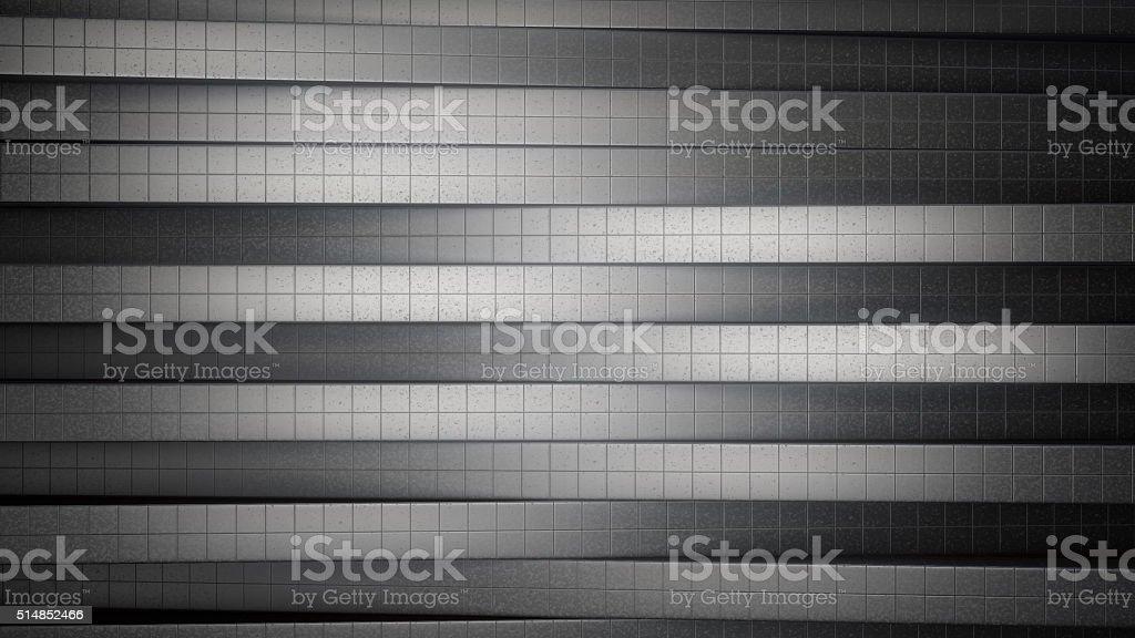 Metallic tiles abstract background royalty-free stock photo