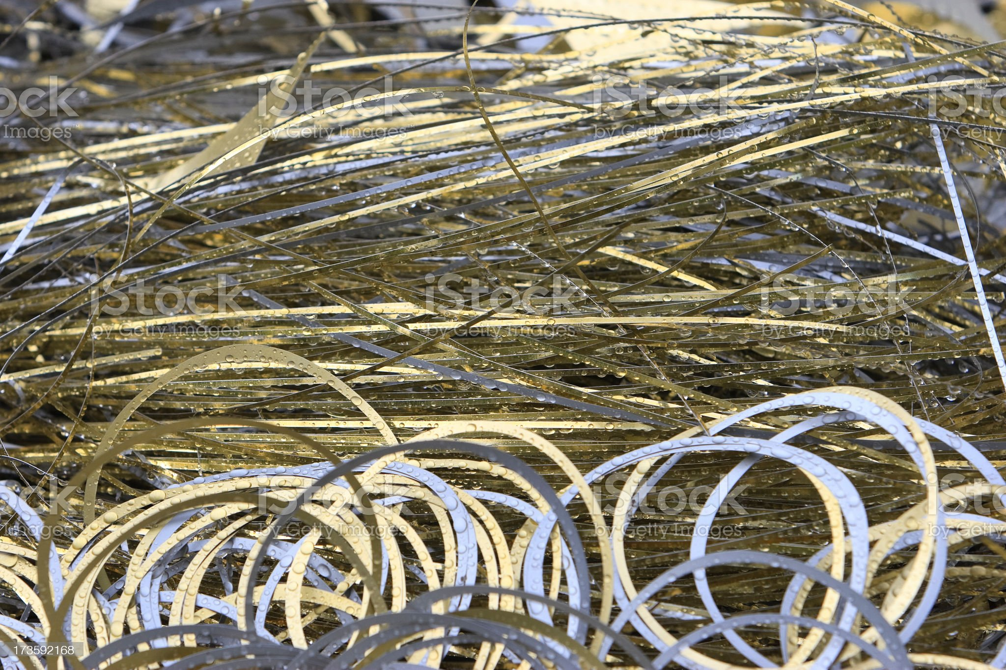 Metallic trim royalty-free stock photo