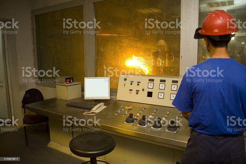 metallurgy royalty-free stock photo