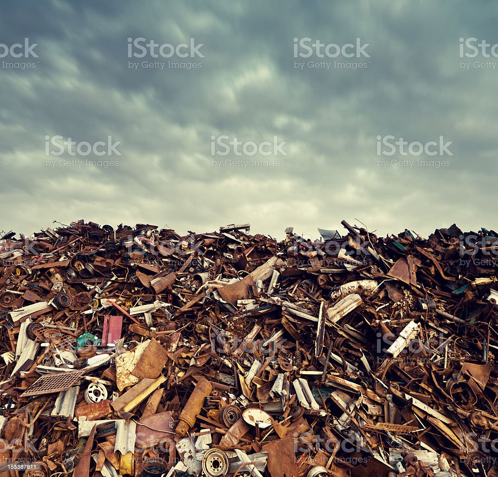 Metalscape royalty-free stock photo
