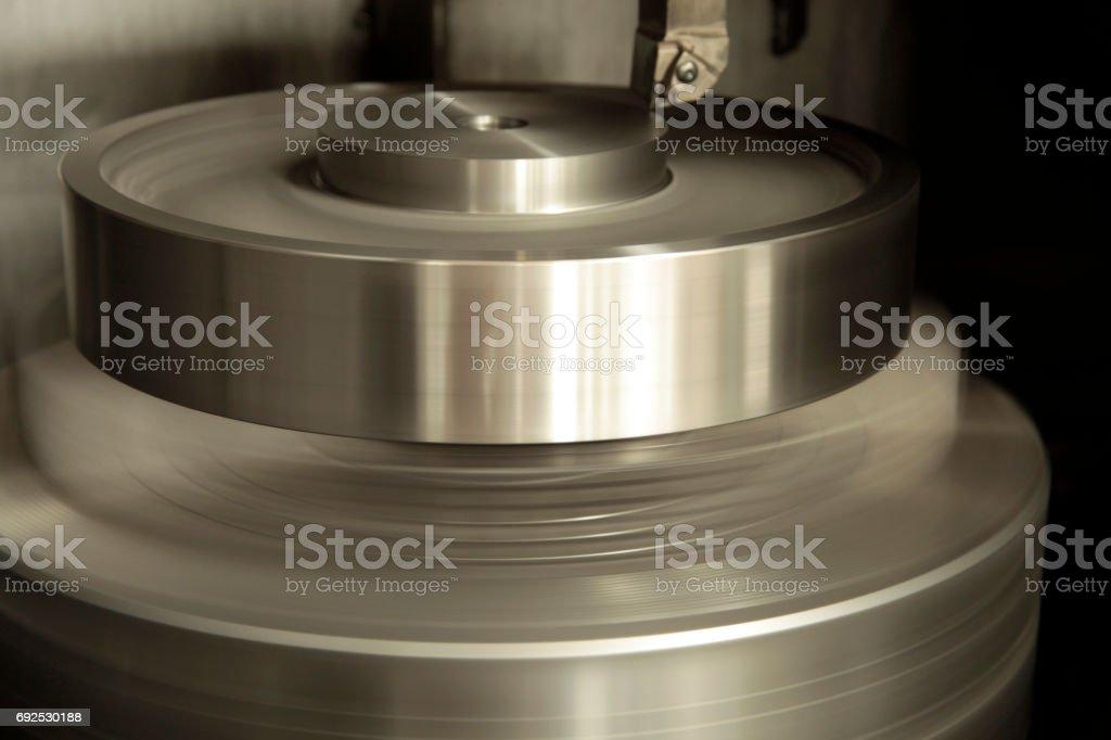 Metalworking CNC stock photo