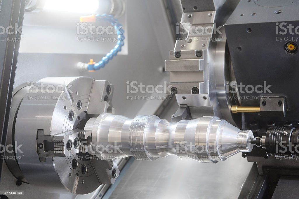 metal-working machine stock photo