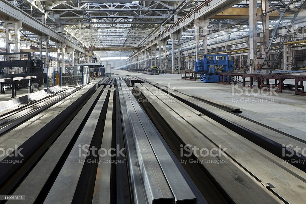 metalworking plant stock photo