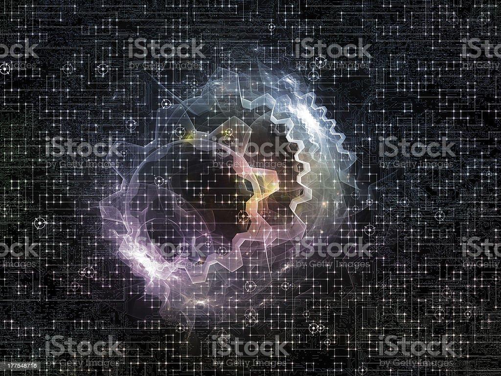 Metaphorical Network royalty-free stock photo