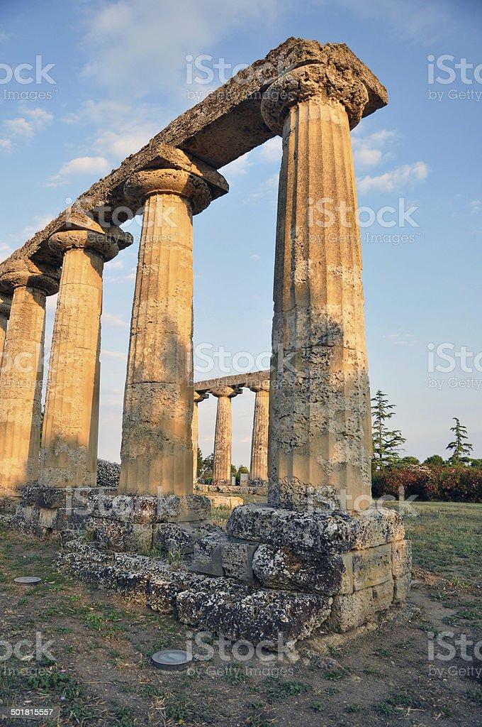 Metaponto - Basilicata - Italy royalty-free stock photo
