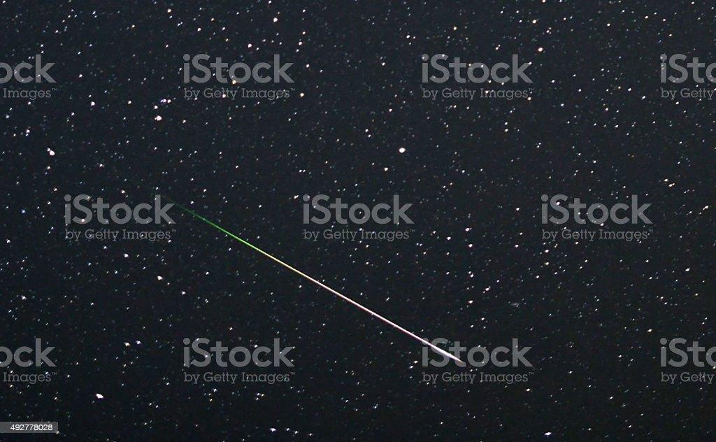 Meteor stock photo
