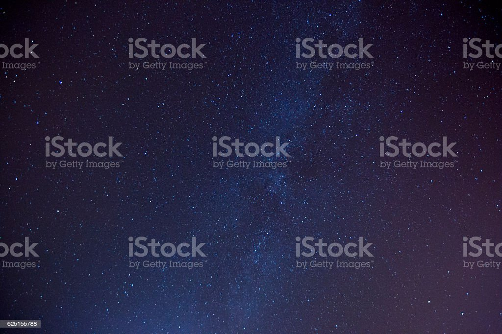 Meteor Shower stars milky way stock photo