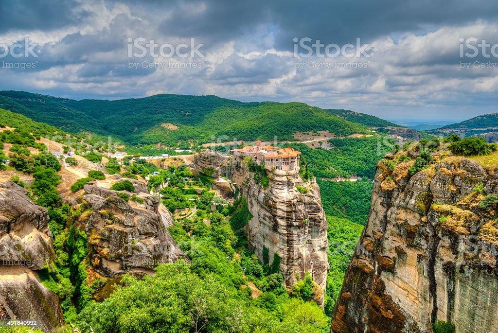 Meteora, Greece stock photo