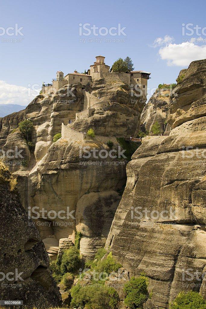 Meteora - Greece royalty-free stock photo