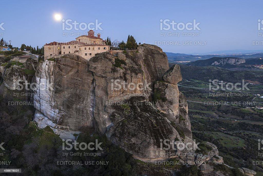 Meteora in Greece royalty-free stock photo