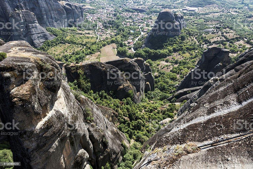 Meteora, Kalambaka stock photo