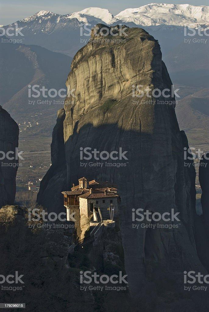Meteora Monasteries royalty-free stock photo
