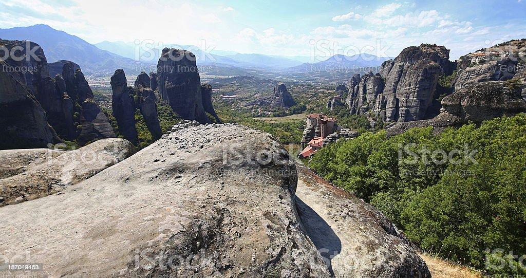 Meteora royalty-free stock photo