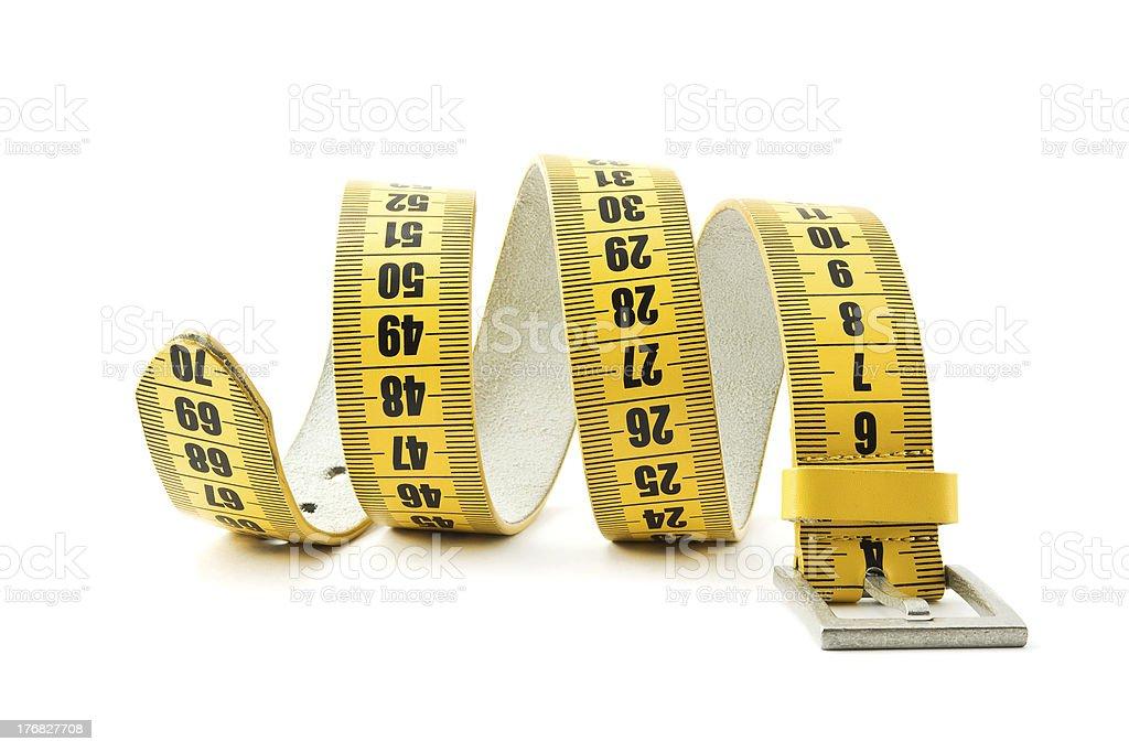 meter belt slimming royalty-free stock photo