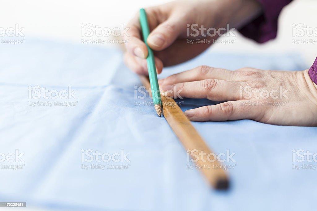 metering tissue stock photo