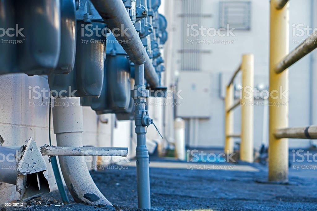 Meters stock photo