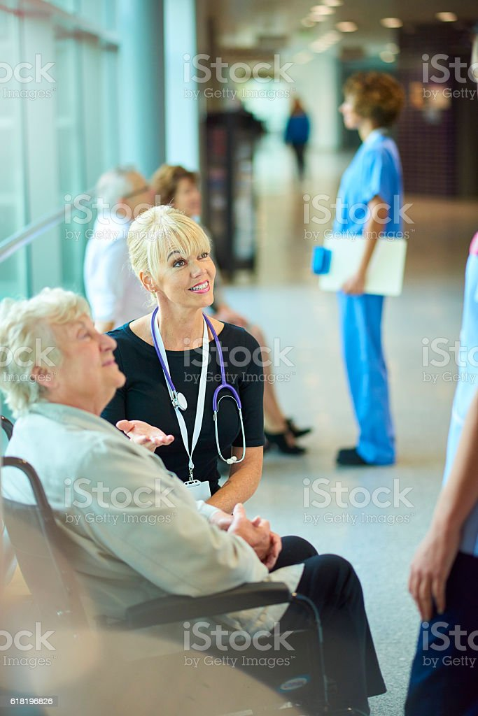 meth addict leaving hospital stock photo