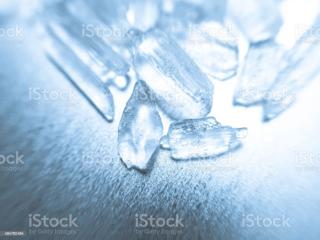 Methamphetamine also known as crystal meth stock photo
