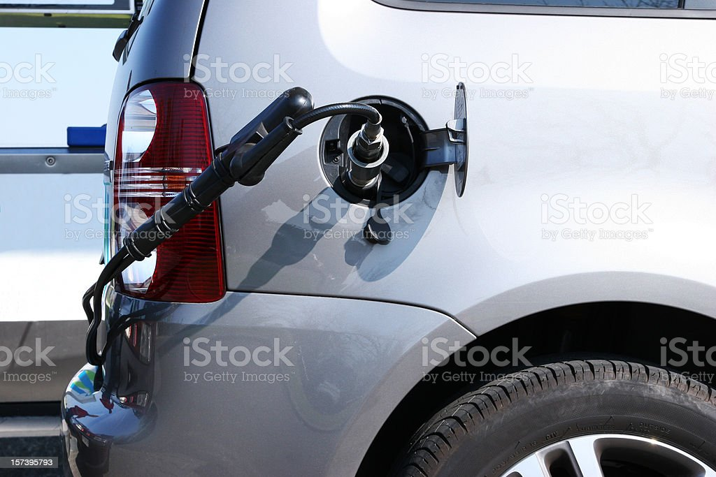 methane car royalty-free stock photo